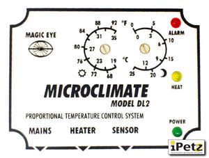 MICROCLIMATE - DL2ME THERMOSTAT