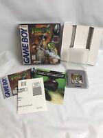Turok Battle Of The Bionosaurs (Nintendo Gameboy) Complete CIB Box Manual Tested