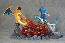 Pokemon Go Mega Charizard VS Charizard Deluxe Resin Figure 40cm  -NEW