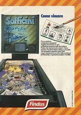 X2353 Sofficini FINDUS - Flipper - Pubblicità 1988 - Advertising