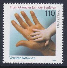 Germany 2025 MNH 1999 International Year of the Elderly Issue Very FIne