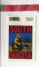 Vintage Vinyl decal South Dakota Prairie dog Baxter Lane