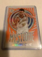 2019-20 PANINI ILLUSIONS STEPHEN CURRY ORANGE ACETATE MYSTIQUE #9 RARE SSP
