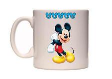 Personalised Mickey Mouse Name 10oz Mug  /  Dishwasher Safe