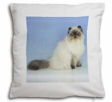 Himalayan Cat Soft Velvet Feel Cushion Cover With Inner Pillow, AC-98-CPW