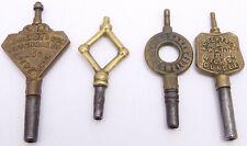 Watch Keys. Ref Wk14 4 Antique Scottish Advertising Pocket