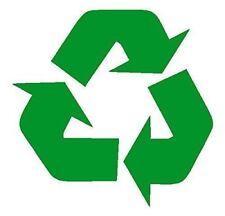 "New RECYCLE Symbol Green Vinyl Wall Decor Car Window Bumper Decal Sticker 5"""