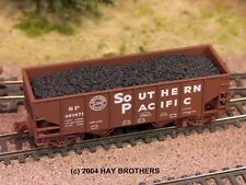 Hay Brothers COAL #2 LOAD - Fits (ALL) Micro-Trains 33' Twin-Bay Hopper Cars