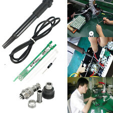 DIY Soldering Handle Kit Set For HAKKO T12 Solder Iron Station Welding Hobby