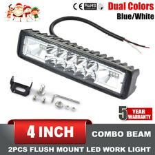 1x 4INCH 48W LED WORK LIGHT BAR SPOT OFFROAD ATV FOG TRUCK LAMP 4WD 12V