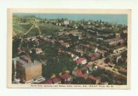 AERIAL VIEW SHOWING LORD NELSON HOTEL, HALIFAX, N.S., CANADA VINTAGE POSTCARD