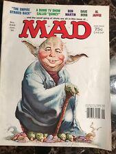 Vintage Mad Magazine No 220 Jan '81 Yoda Empire Strikes Back Alfred E Newman