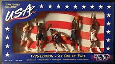 USA Olympic Basketball Dream Team 1996 Starting Lineup Set 1 Of 2