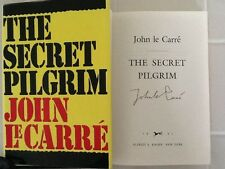 "JOHN LE CARRE  SIGNED ""The Secret Pilgrim""  Spy Thriller  1st Edition HC/DJ"