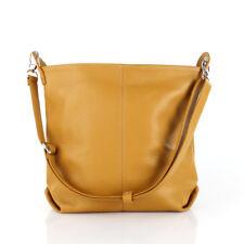 31c9231f4bef0 Damen Hand Schulter Umhänge Beutel Tasche Shopper Leder Cross Bag Blogger  Gelb