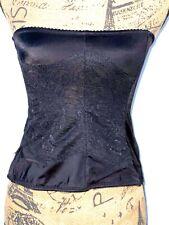 Flexees Maidenform Women's Black Lace Lingerie Bra Top Size Large