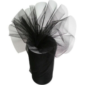 Tulle Fabric Roll Spool 6 inch x 25 yards DIY Wedding Bow Gift Craft Party Decor