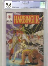 Harbinger #3 CGC 9.6  1st Ax and Rexo - Coupon included - White Pages.