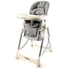 Br New Love N Care Techno High Chair Infant Baby Children Kids Hi Lo Chair Grey