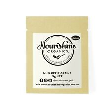 NourishmeOrganics Organic Milk Kefir Grains 5g