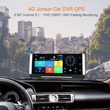 7'' Android Dual Camera Car DVR WiFi Bluetooth 3G GPS Reversing Dash Recorder OK
