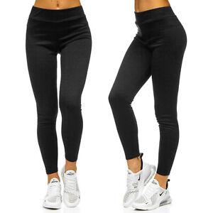 Leggings Sporthose Leggins Fitness Trainingshose Unifarben Damen BOLF Slim Fit