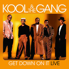 CD Kool And The Gang Get Down On It Live