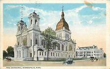 Minneapolis Minnesota~Protestant Cathedral~1916 Postcard