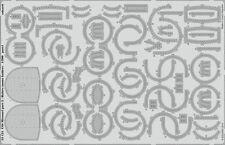 Eduard pe 53121 1/200 uss missouri BB-63 partie 5-bofors ammo titulaire trompette