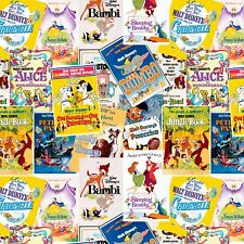 Disney Fabric - Greatest Love Story Ever Told Posters - 100% Cotton