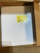 8 Pack New Nvent Hoffman A12p12 1075 X 1088 White Steel Panel 54840 Panels
