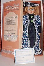 """Ashley  Belle Porcelain Doll  """"Lisa""""  with box and stand"""