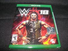 WWE 2K18 (Microsoft Xbox One)  ***NEW FACTORY SEALED***