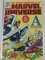"Official Handbook of the Marvel Universe #1 ""A"" Jan. 1983 Marvel Comics"