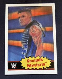 2021 Topps WWE Wrestling Living Set Dominik Mysterio #48