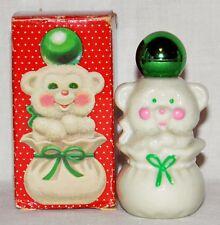 1970 Sweet Honesty Avon Cologne 1 oz Full Snug Cub Bear Bottle Vintage Nos w Box
