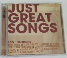 Just Great Songs (Sony) 2-CD 38trk Coldplay,Jose Gonzales,Killers,Kings of Leon