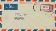 INDIA 1942/1950 14A superb airmail cover + 3 1/2A superb cover to SWITZERLAND