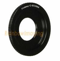 16mm Cine C Movie Lens to CANON EOS M EF-M MIRRORLESS M3 M10 M100 Camera Adapter