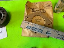 De Soto;  Chrysler;  Dodge; Plymouth,  water outlet gasket.     Item:  16203