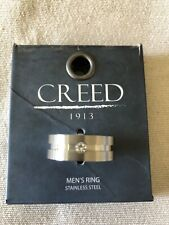 CREED-Stainless Steel Mens Ring 1913- Size 11