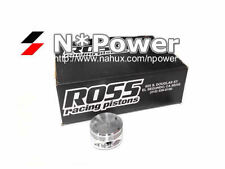 ROSS FORGED PISTONS & RINGS STD for NISSAN SKYLINE R33 RB25DET STAGEA TURBO