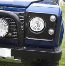 """ALOGENA Crystal proiettori per Land Rover Defender FARI H4 ROUND 7 """" 90 110"""