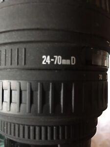 Sigma AF Zoom 24-70mm F3.5-5.6 Aspherical Nikon Mount