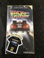 Back to the Future Funko Home Video Vhs Packaged T-Shirt Xl Target Exclusive