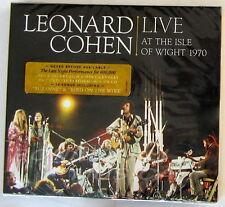 COHEN LEONARD - LIVE AT THE ISLE OF WIGHT 1970 - CD + DVD Sigillato