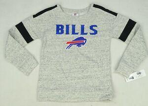 Buffalo Bills NFL Team Apparel Junior Girl's Crewneck Sweatshirt