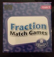 Fractions Match Games