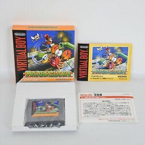 Mario Clash comme Neuf Virtuel Boy Nintendo 1416 Vb
