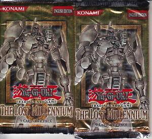 YU-GI-OH! TCG - The Lost Millennium Booster Card Packs (2) | Konami